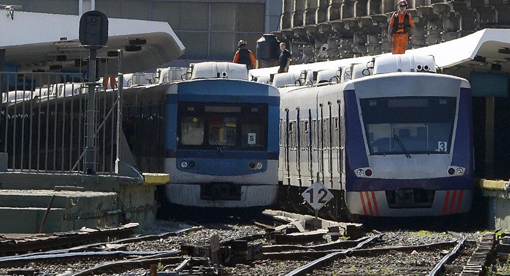 Estación Once de la ciudad de Buenos Aires