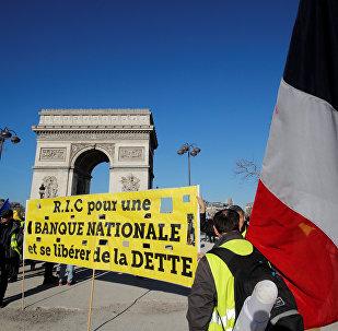 Las protestas de los 'chalecos amarillos' en París