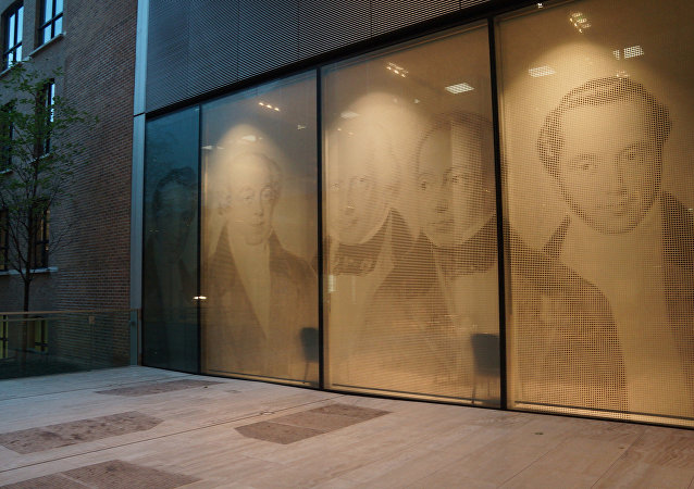 Retratos de los Rothschild en el Banco Rothschild en Londres