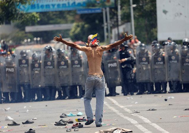 La situación en la frontera entre Venezuela y Colombia