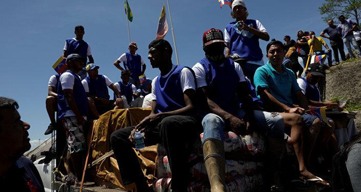 Situación en la frontera entre Brasil y Venezuela