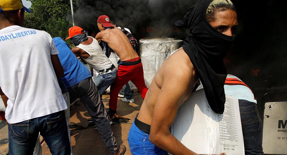 Enfrentamientos en la frontera entre Venezuela y Colombia