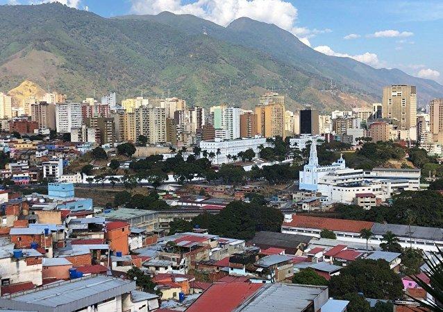 Caracas, capital de Venezuela