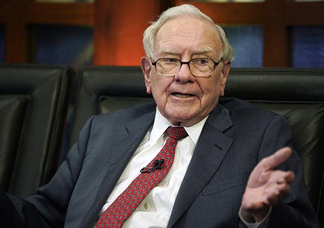 Warren Buffett, multimillonario estadounidense (archivo)