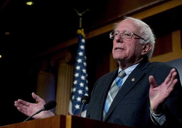 Bernie Sanders, precandidato a presidente de EEUU