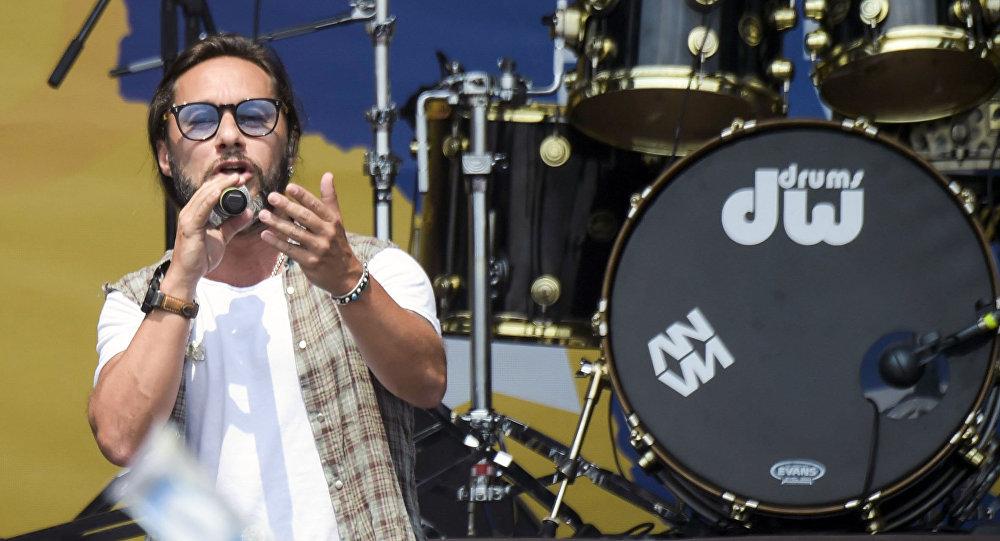 Diego Torres en el Venezuela Live Aid