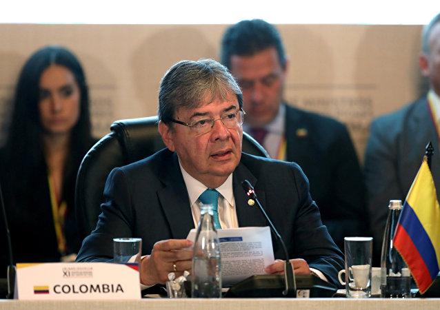 Carlos Holmes Trujillo, canciller de Colombia (archivo)