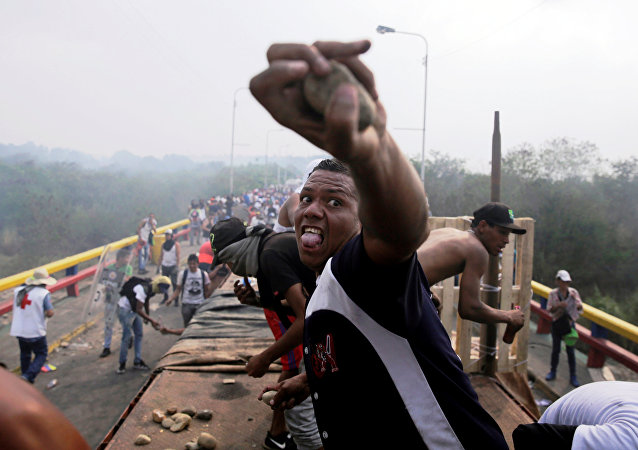 Situación en la frontera entre Venezuela y Brasil (23 de febrero)