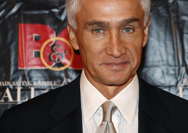 Jorge Ramos, periodista de la cadena Univisión