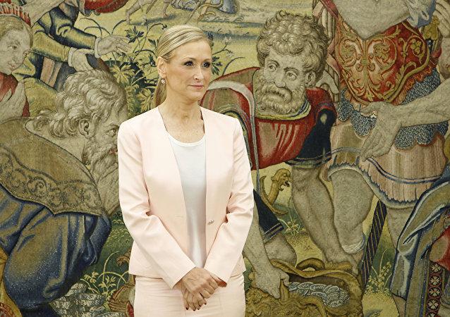 Cristina Cifuentes, expresidenta dimitida de la Comunidad de Madrid