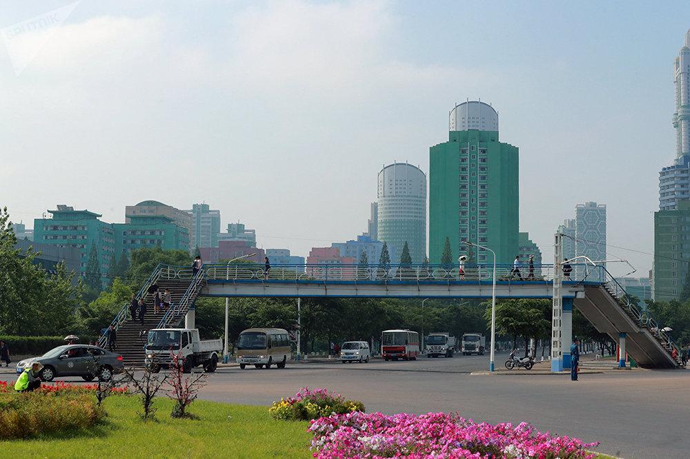 Edificios de apartamentos en Pyongyang