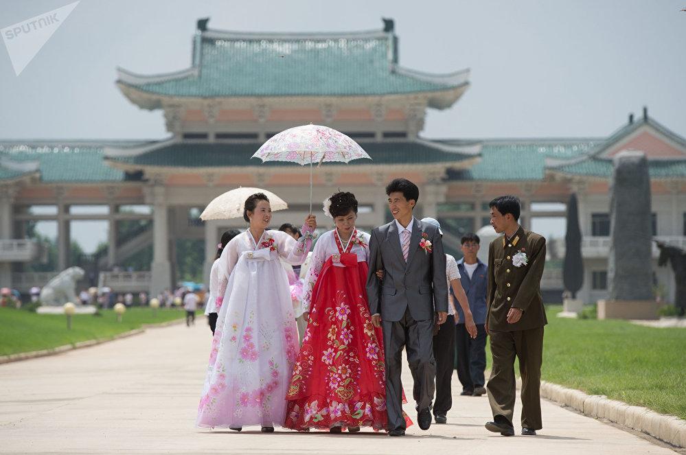 Una boda en Pyongyang