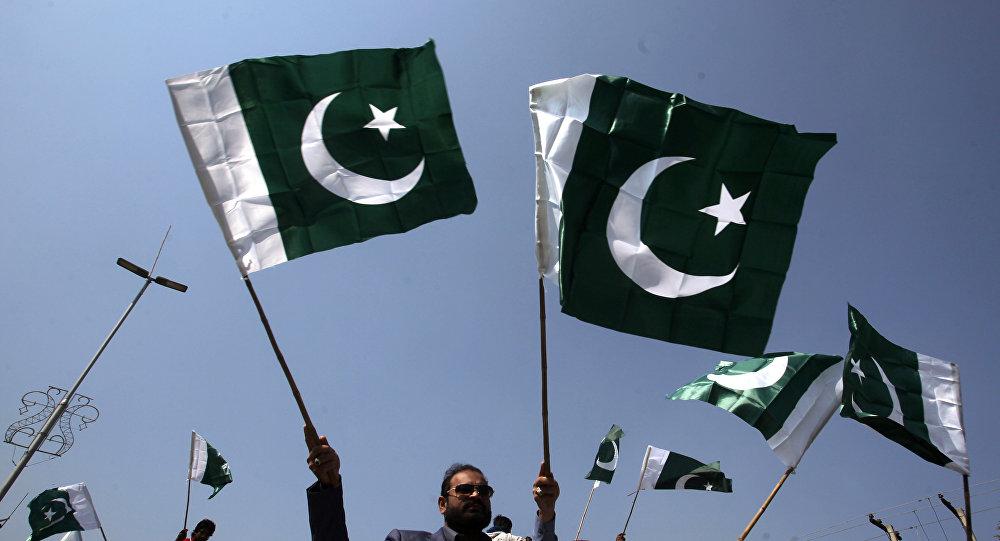 Las banderas de Pakistán (archivo)