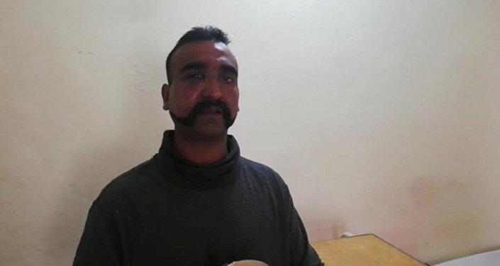 Abhi Nandan, el piloto militar indio capturado en Pakistán