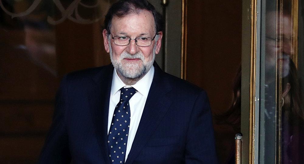 El expresidente del Gobierno español, Mariano Rajoy