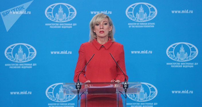 María Zajárova, portavoz del Ministerio de Asuntos Exteriores de Rusia (archivo)