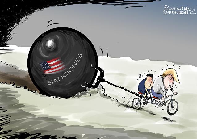 Las sanciones, ¿una carga pesada para el avance de la cumbre Trump-Kim?