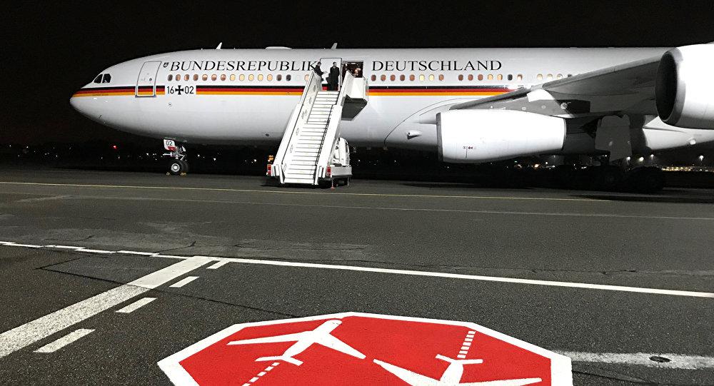 Un avión del Gobierno alemán (archivo)