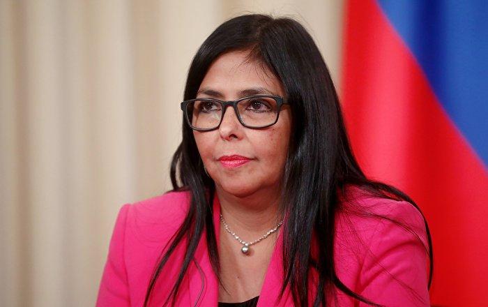 La vicepresidenta de Venezuela llega a Moscú para reforzar relación bilateral