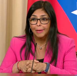 La vicepresidenta de Venezuela cuenta una anécdota de la oposición