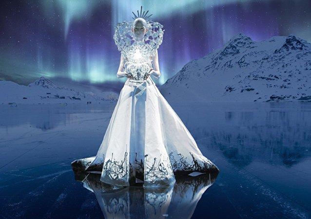Una reina de hielo (imagen referencial)
