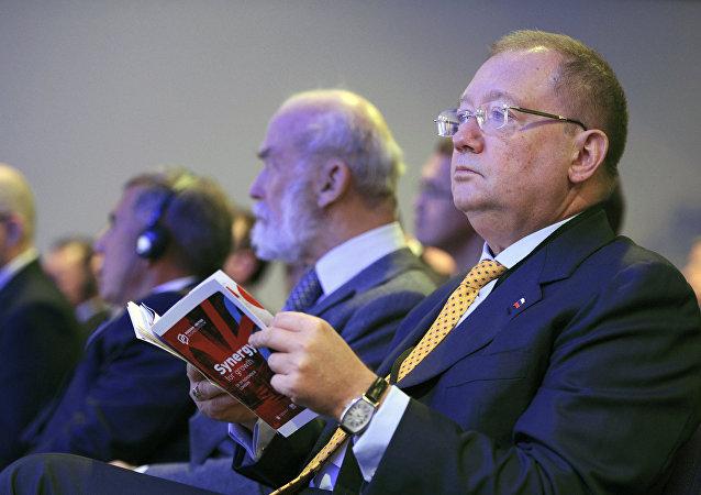 Alexandr Yakovenko, embajador de Rusia en el Reino Unido