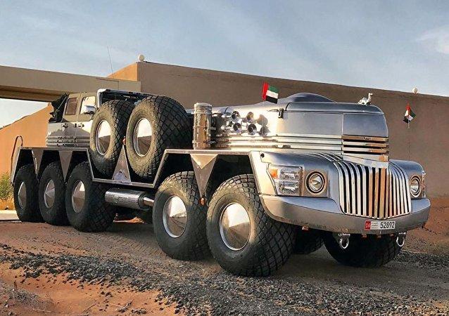 El vehículo todoterreno Dhabiyan