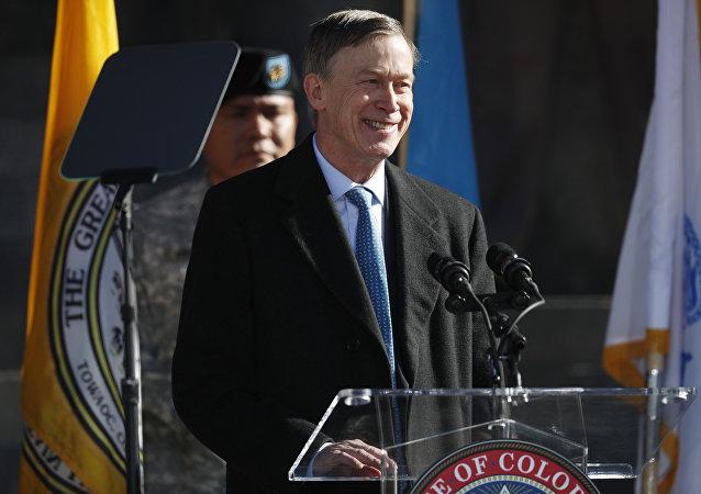 John Hickenlooper, exgobernador del estado norteamericano de Colorado