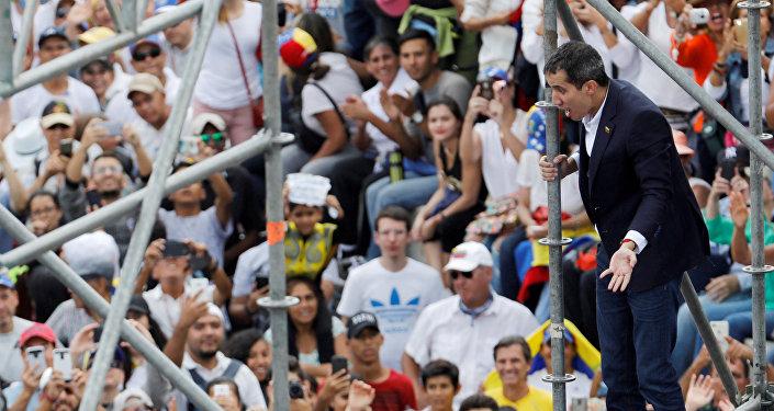 Juan Guaidó, líder opositor vnezolano