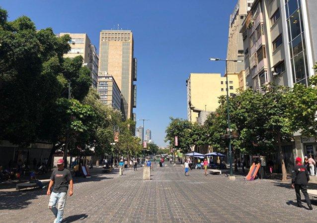 Caracas durante el feriado de Carnaval