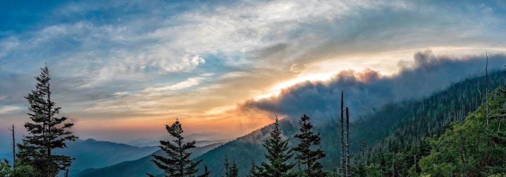 El Parque Nacional de las Great Smoky Mountains (Grandes Montañas Humeantes), EEUU