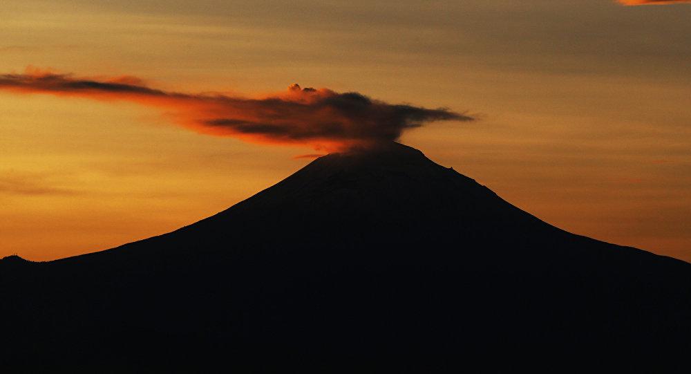 El volcán mexicano Popocatépetl (archivo)