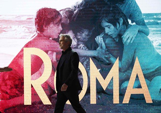 Alfonso Cuarón, director de cine mexicano y creador de la película Roma