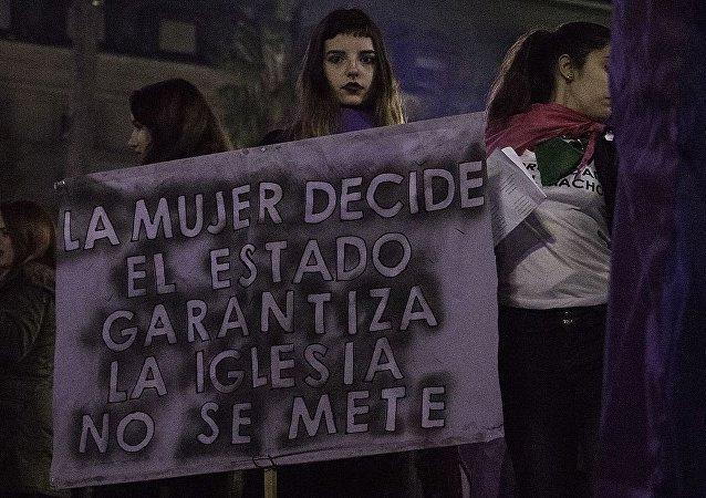 Marcha Ni Una Menos en Buenos Aires 2017