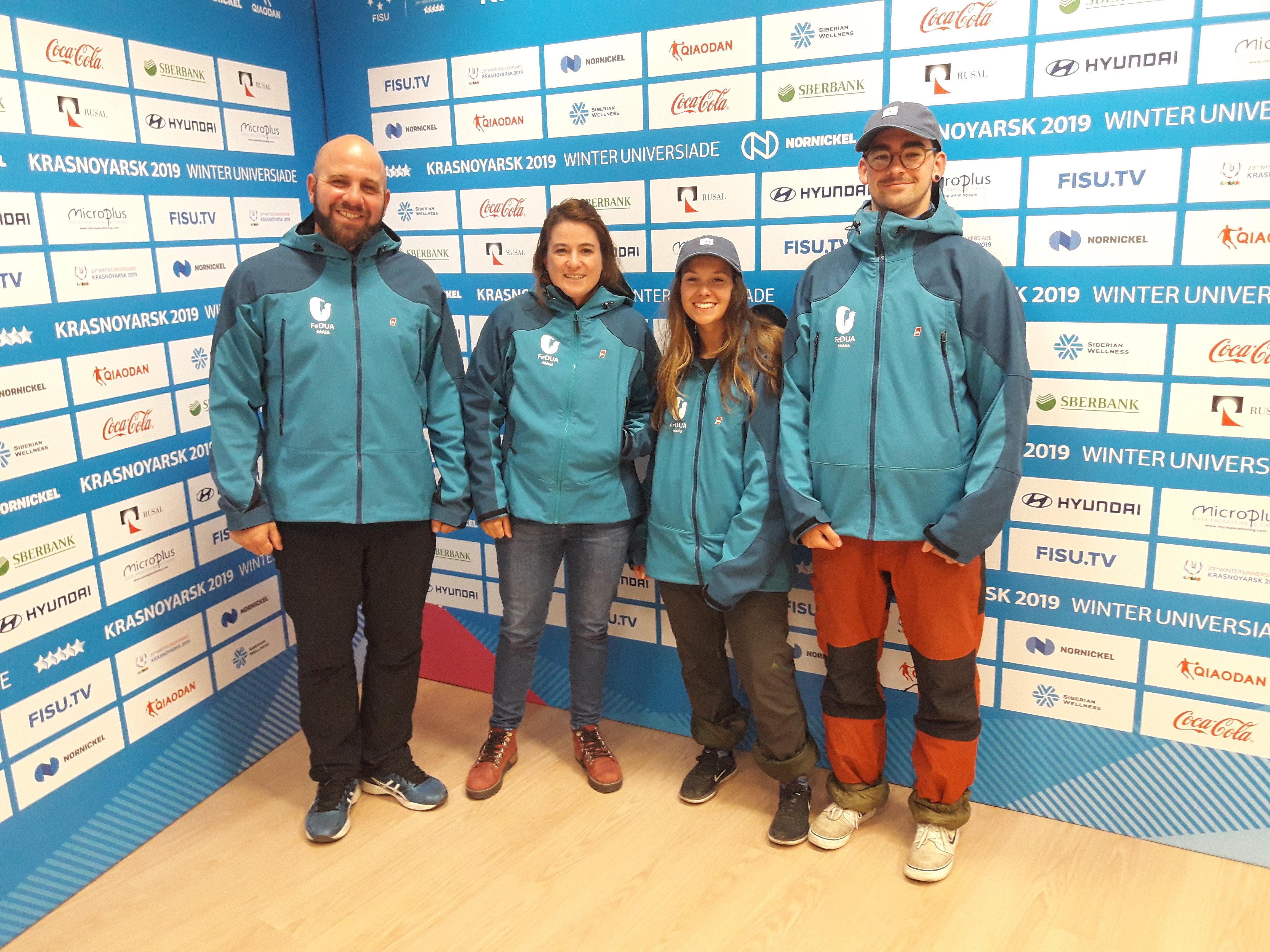 Delegación de Argentina en la Universiada de Krasnoyarsk