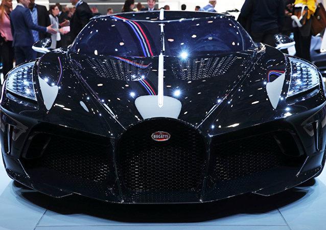 El 'La Voiture Noire' de Bugatti