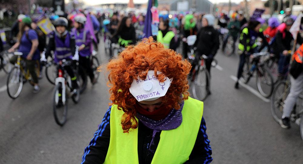 La huelga feminista en España