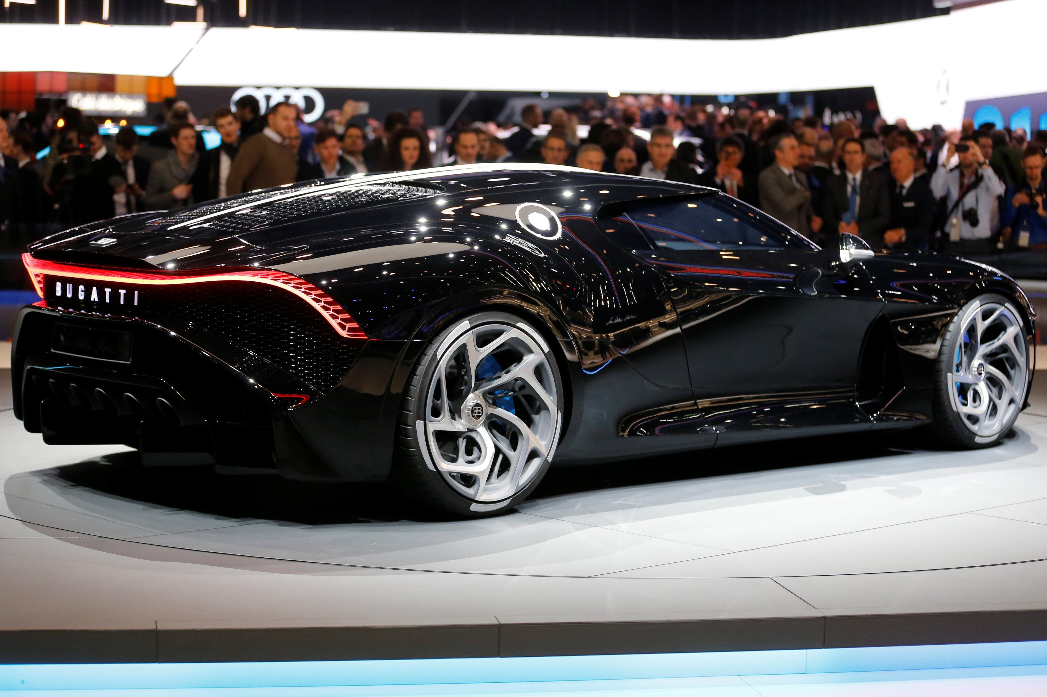 El 'La Voiture Noire' de Bugatti, el auto más caro del mundo