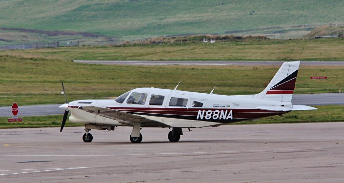 Una avioneta Piper PA