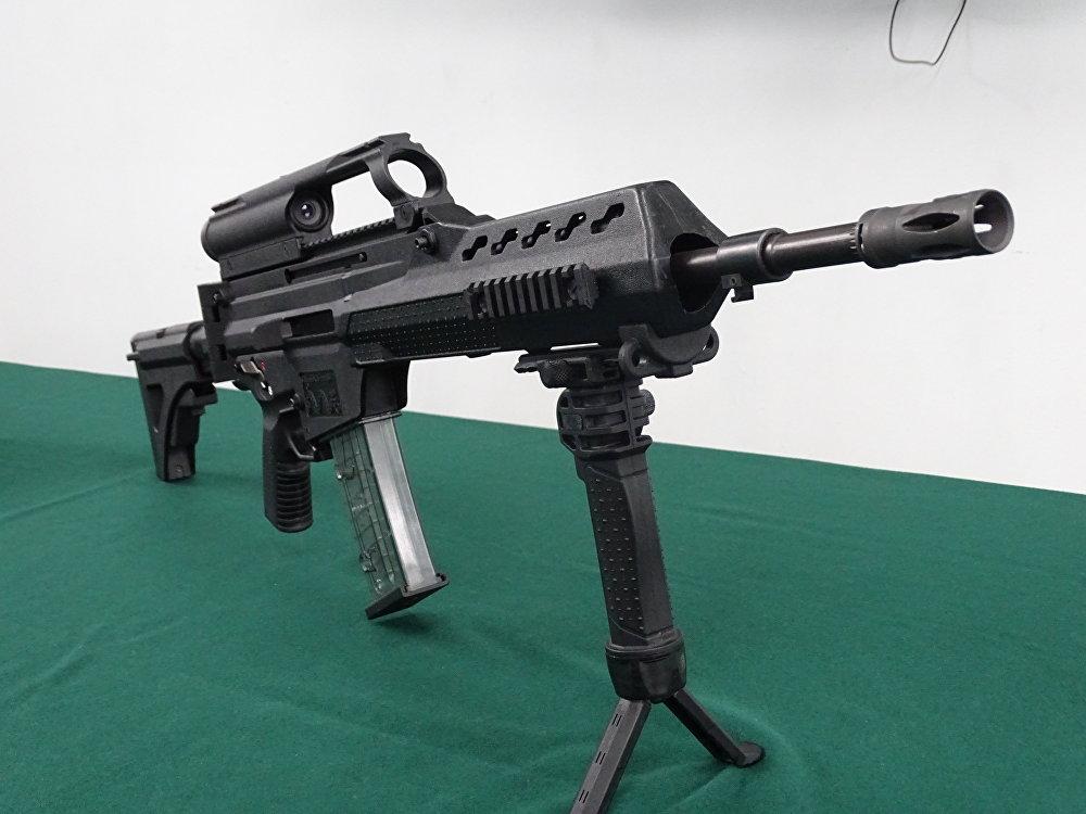 El fusil FX-05 Xiuhcóatl