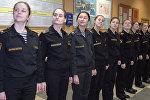 Las bellas jóvenes rusas que se preparan para ser marineras militares