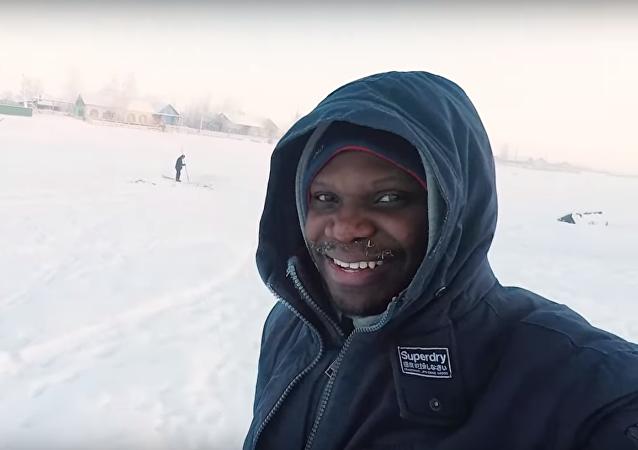 Mark Babatunde, el nigeriano que dice ser el africano más septentrional del mundo