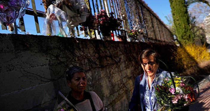 Parientes de las víctimas de los atentados del 11 de marzo de 2004