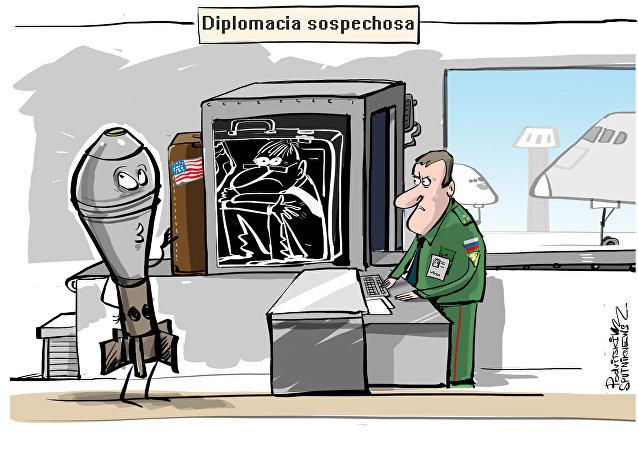 La 'explosiva' diplomacia de Estados Unidos