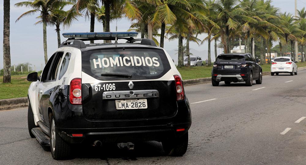 La policía de Brasil
