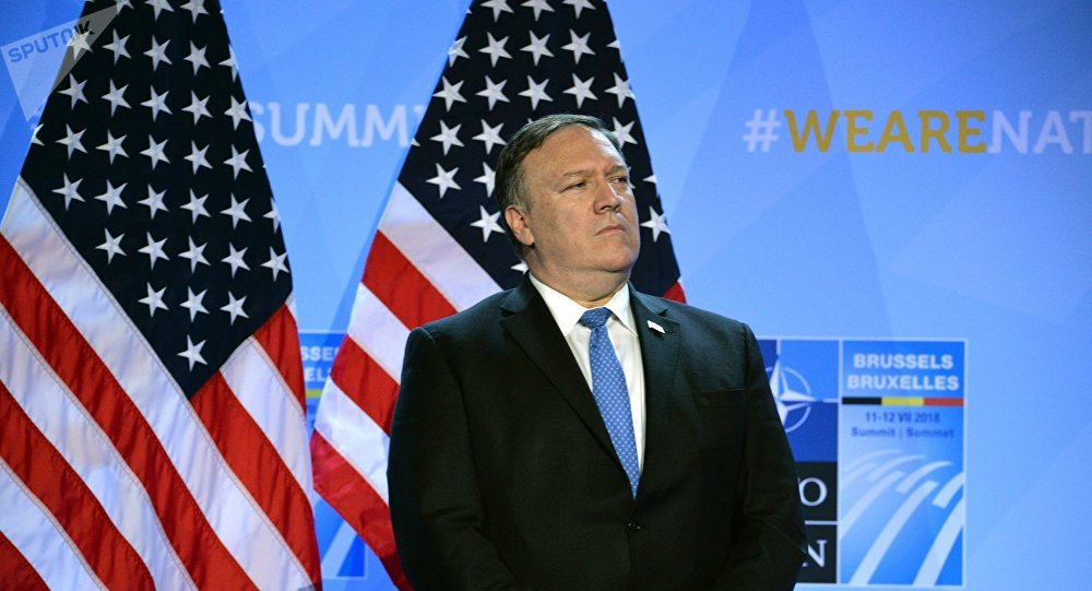 Mike Pompeo, secretario de Estado de EEUU