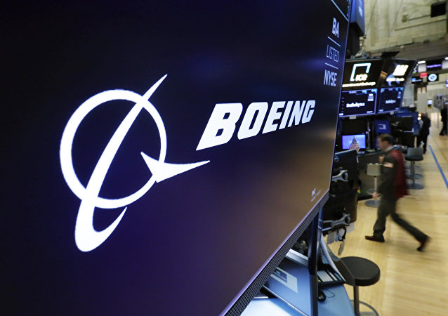 El logo de Boeing