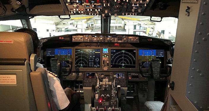 La cabina del Boeing 737 MAX 8