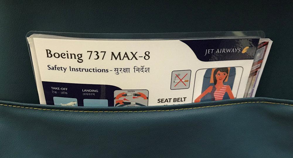 Instrucción de seguridad para Boeing 737 MAX 8