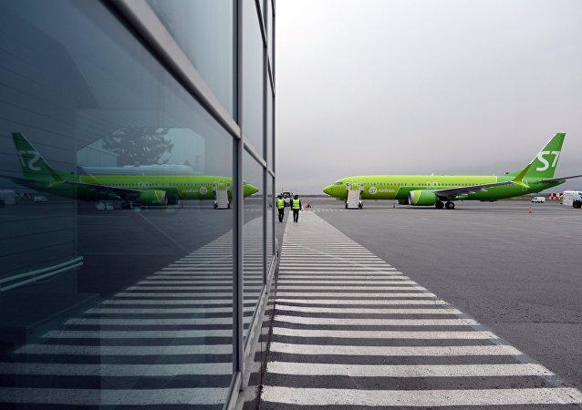 Un Boeing 737 MAX ruso (imagen referencial)